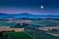 Scenic Tuscany Landscape In Mo...