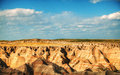 Scenic view at Badlands National Park, South Dakota, USA Royalty Free Stock Image