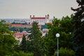 Scenic view of Bratislava castle