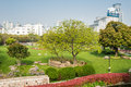 Scenic view of gucheng park shanghai china april at the city in on april th Royalty Free Stock Photos