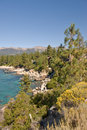Scenic view of Lake Tahoe Stock Images