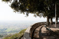 Scenic view point over Umbria Stock Photography
