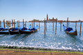 Scenic view of San Marco Basin, Venice (Italy) Stock Photo