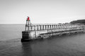 Scenic View Of Whitby Pier In ...