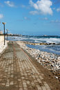 Sceny szorstki morze Zdjęcia Royalty Free