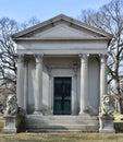 Schaaf Family Mausoleum Royalty Free Stock Photo