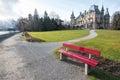 Schadau casle in Thun - Switzerland Royalty Free Stock Photo