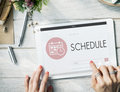 Schedule Appointment Meeting Agenda Planner Concept