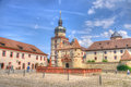 Scherenbergtor in Marienberg Fortress (Castle), Wurzburg, Bayern Royalty Free Stock Photo
