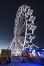 Scheveningen ferris wheel Royalty Free Stock Photo