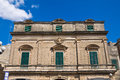 Schiavoni palace manduria puglia italy detail of the of Stock Photography