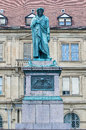 The Schiller memorial in Stuttgart, Germany Stock Images