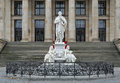 Schiller Monument in Berlin, Germany Royalty Free Stock Photo