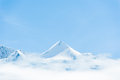 Schilthorn on of the most famous top mountian in jungfrau regio region Royalty Free Stock Photos
