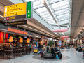 Schiphol Plaza shopping centre at Amsterdam Airport Holland