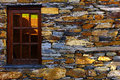Schist village detail of a portugal Royalty Free Stock Photo