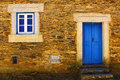 Schist village detail of a portugal Stock Photography