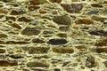 Schist wall at a little portuguese village Royalty Free Stock Photo
