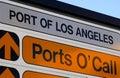 Schließt o'call an den Port an Lizenzfreie Stockfotos