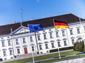 Schloss bellevue in berlin president of germany Stock Photography