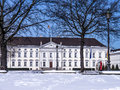 Schloss bellevue in berlin president of germany Stock Image