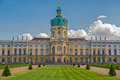 Schloss charlottenburg charlottenburg palace with garden in berlin it is the largest and the only surviving royal residence Royalty Free Stock Images