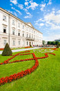 Schloss mirabell with mirabellgarten in salzburg austria salzburger land Stock Photo