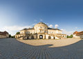 Schloss solitude panorama of the castle stuttgart germany Royalty Free Stock Photos