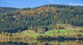 Schluchsee in black forest reservoir germany Royalty Free Stock Photo