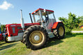 Schluter tractor Stock Photo