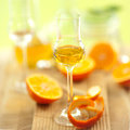 Schnapps, oranges Royalty Free Stock Images