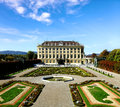 Schoenbrunn Palace in Vienna, Austria Royalty Free Stock Photography