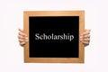 Scholarship Royalty Free Stock Photo