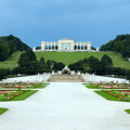 Schonbrunn Palace Park Stock Photo