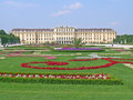 Schonbrunn palace in vienna austria Royalty Free Stock Photo