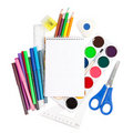 School Accessories Stock Images