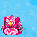 School bag Royalty Free Stock Photography