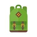 School bag vector illustration .