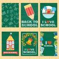 School banners set