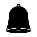 School bell isolated icon