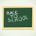 School blackboard back to school Royalty Free Stock Images