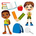 School Boys Royalty Free Stock Photography