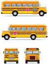 School Bus Royalty Free Stock Photography