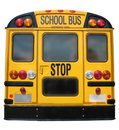 School Bus Back Royalty Free Stock Photo