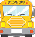 School bus icon over white background illustration Stock Photos