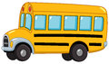 School bus illustration of a Royalty Free Stock Photo