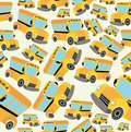 School bus pattern Royalty Free Stock Photos