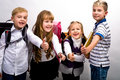 School children Royalty Free Stock Photos