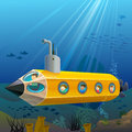 School Children Enjoying Pencil Submarine Ride Und Royalty Free Stock Images
