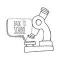 School design over white background illustration Stock Photography